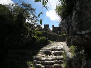 Photo: マチュピチュ 太陽の門へ 超人気のワイナピチュ山と違い静かで歩きやすい