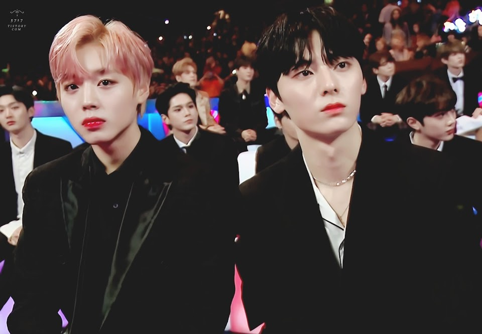 Park Jihoon and Hwang Minhyun Wanna One