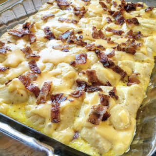 Bacon, Egg, and Cheese Biscuit Bake.