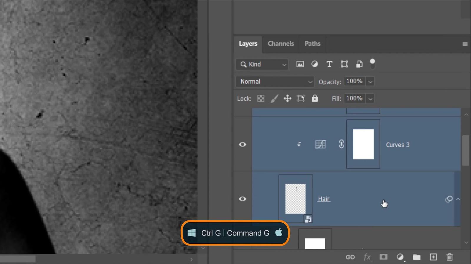 Press Ctrl G on Windows or Command G on Mac