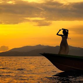 Chasing The Light  by Bob Shahrul - Landscapes Sunsets & Sunrises