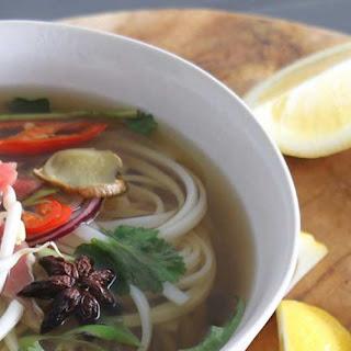 Pho Vietnamese Noodle Soup.