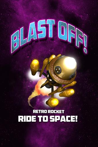 Blast Off - Retro Rocket Ride