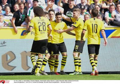 🎥 Bundesliga : Dortmund cartonne avec le concours de Witsel, Bailey s'illustre avec Leverkusen