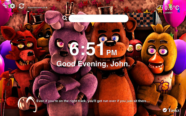 Five Nights at Freddy's HD Wallpapers New Tab