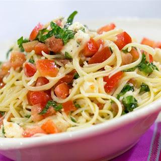 Katherine Heigl's Brie Tomato Pasta.