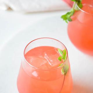 Fizzy Watermelon Cocktail