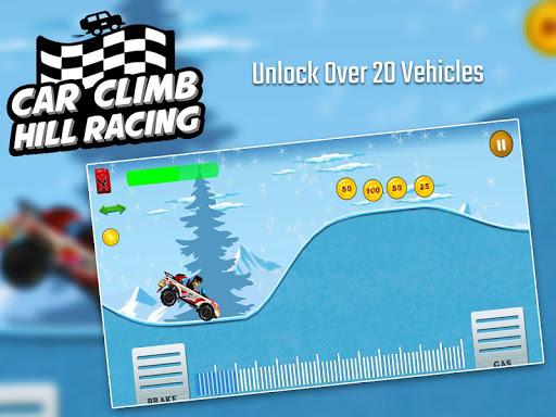 Car Climb Hill Racing 1.4 APK MOD screenshots 2