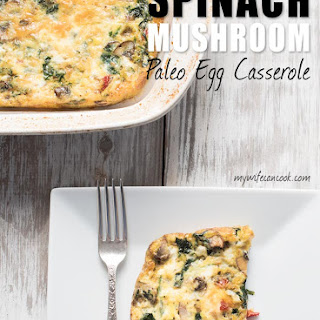 Spinach Paleo Egg Casserole Recipe