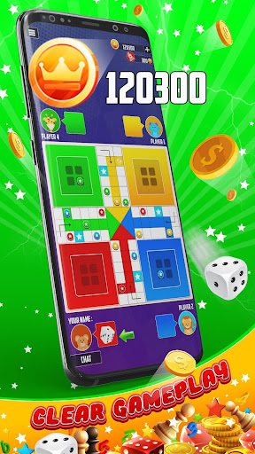 King of Ludo Dice Game with Voice Chat apkpoly screenshots 3