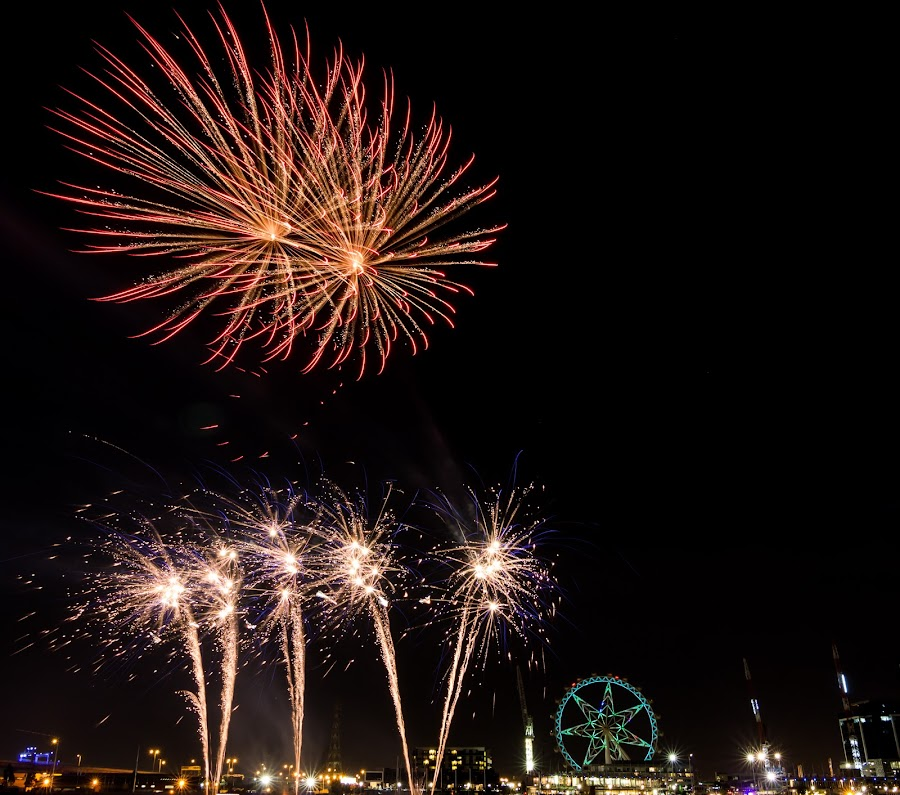 Starworks by Madhujith Venkatakrishna - Abstract Fire & Fireworks