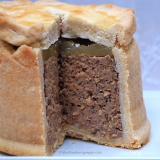 Vegan Traditional Pork Pie