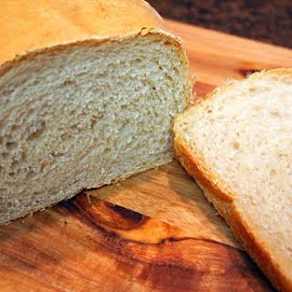 White Bread Recipe Using Simple Straight Dough.
