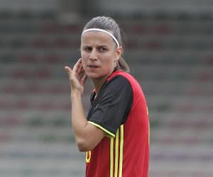 """Laura De Neve speelde met Flames in 'haar' Denderleeuw: """"Leuk dat de bondscoach mij dat vertrouwen geeft"""" en """"Lef tonen op EK"""""""