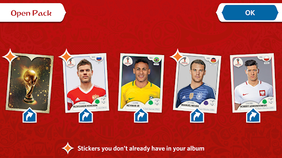 Panini Sticker Album Screenshot