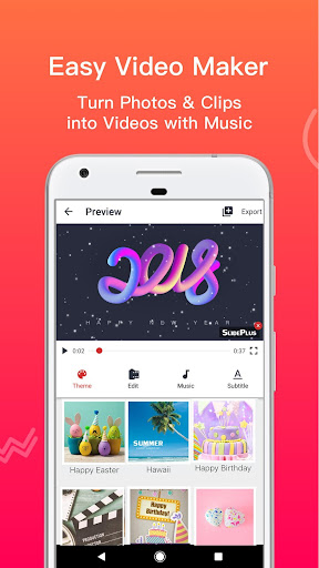 SlidePlus: Free Photo Slideshow Maker+Video Editor Apk Download Free for PC, smart TV