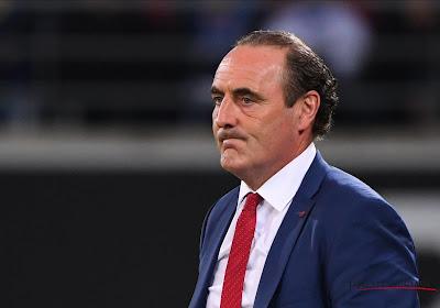 """Yves Vanderhaeghe après la défaite face à Waasland-Beveren : """"Nous avons encore 7 points d'avance sur le Cercle de Bruges"""""""