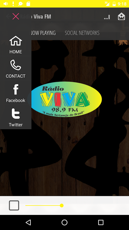 Rádio Viva FM  |  Cambuí - MG- screenshot