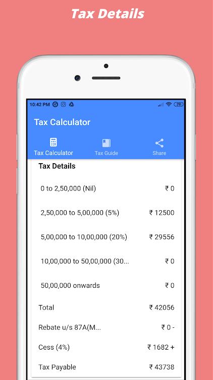 Income Tax Calculator 2017 2018 2019