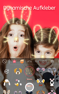 Sweet Snap - Live Filter, Video bearbeiten Screenshot