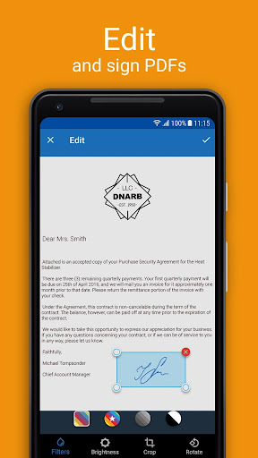 Scanner App for Me: Scan Documents to PDF 1.5 screenshots 2