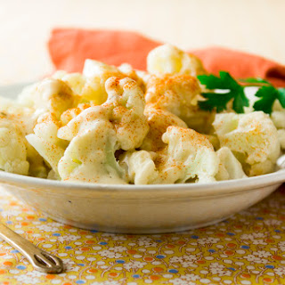 Cauliflower with White Oak Mornay Sauce