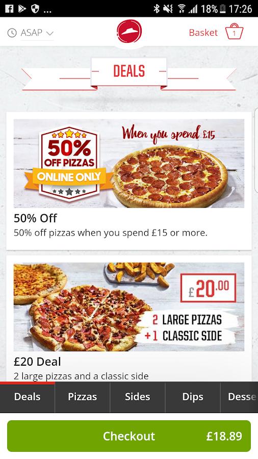 App For Ordering Food Or Drink Uk
