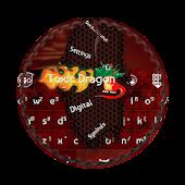 Toxic Dragon GO Keyboard Theme