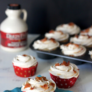 French Toast Cupcakes with Bacon