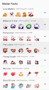 Download Love Couple Sticker WhatsApp For PC Windows and Mac apk screenshot 2