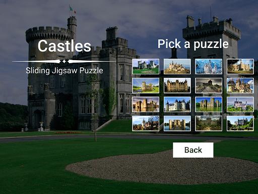 Castles Sliding Jigsaw