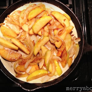 Skillet Pork Chops with Apples and Mustard Sauce