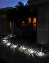 Photo: New welcome lighting