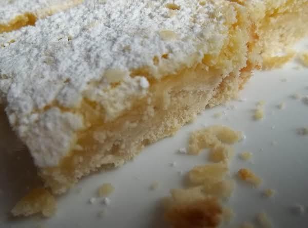 Lemon Pie Bars Recipe