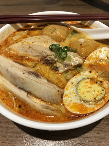 第二次光顧~點了叻沙麵、紅咖哩飯、肉骨茶、椰子吐司。不管是調味、給料都維持水準👍主食價格在200上下,算是目前吃下來CP值最高的馬來西亞餐廳!但沒有提供開水自取,吃飯習慣配水的人須自備。
