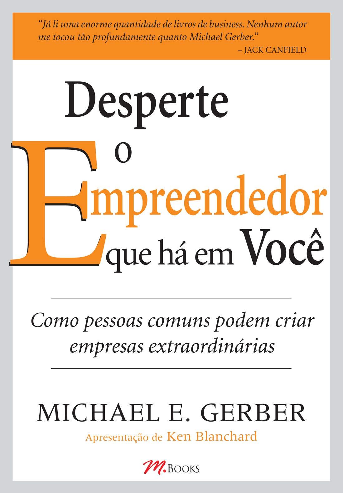 """Capa do livro """"Desperte o Empreendedor Que Há Em Você"""""""
