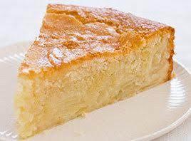 French Sweet Custard Apple Cake Recipe