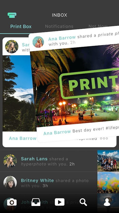 Lifeprint Photos- screenshot