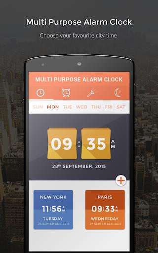 Multi Purpose Alarm Clock