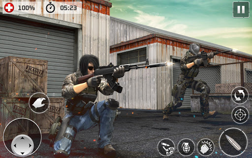 Code Triche Contract Cover Shooter 2020 - Pro Cover Fire Game APK MOD screenshots 3