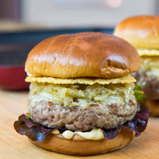 Veal French Onion Burger.