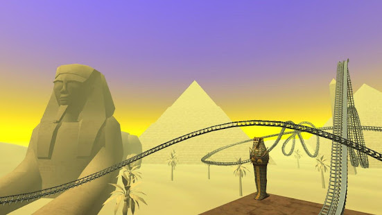 Egyptian Pyramids Virtual Reality Roller Coaster
