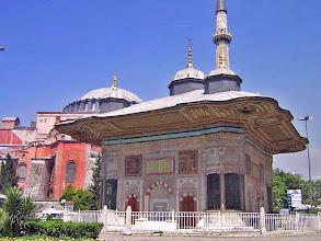 Photo: Fountain of Ahmet III next to Topkapi ****** Fontein van Ahmet III bij Topkapi