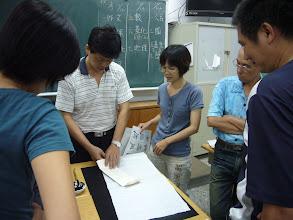 Photo: 20110921書法藝術欣賞與創作