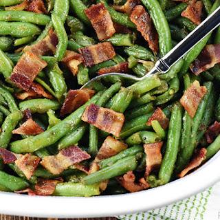 Bacon Green Bean Casserole.