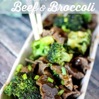 One Skillet Beef & Broccoli