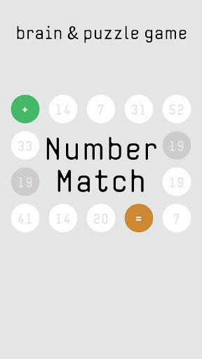 Number Match brain&puzzle game  screenshots 1