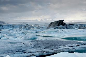 Photo: La Glacial Lagoon.