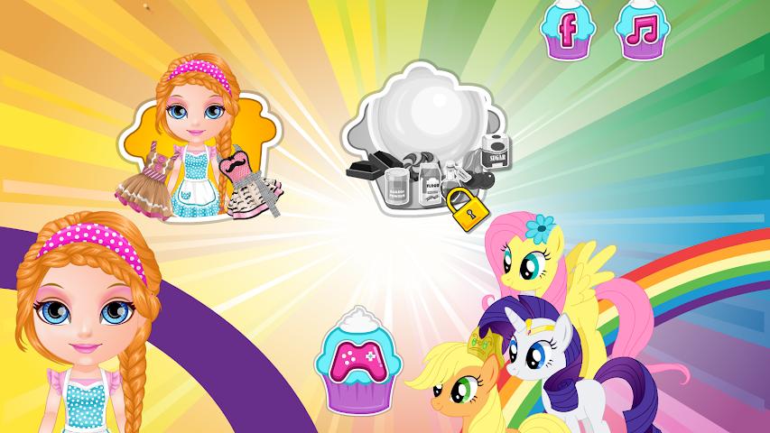 android Baby Pony Cupcakes Screenshot 1