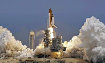 Photo: The space shuttle Atlantis lifts off Monday May 11, 2009 at the Kennedy Space Center in Cape Canaveral, Fla.  Seven astronauts are beginning a 12-day mission that includes the fifth and final servicing of the Hubble Space Telescope. (AP Photo/Chris O'Meara)